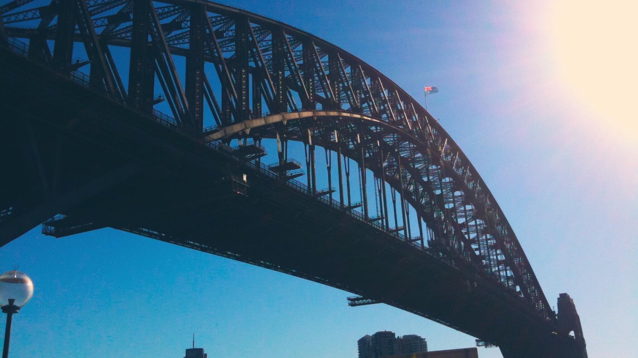 Exploring Sydney in a breeze