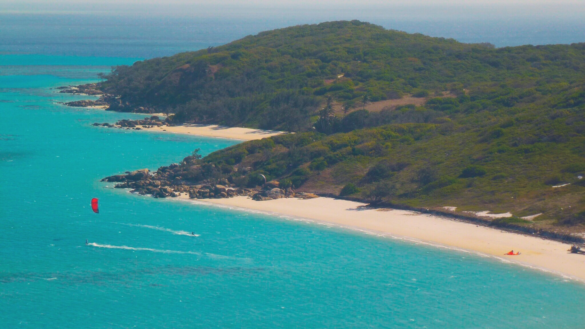 Lizard Island's stunning Blue Lagoon and Coconut Beach