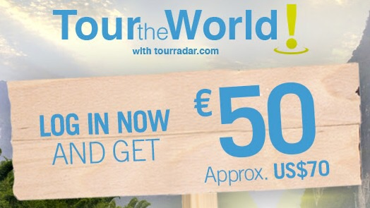 SPECIAL OFFER: Get €50 (AUD $74, USD $70) off your tour booking at TourRadar