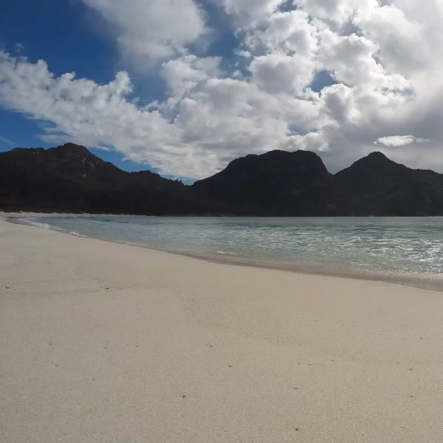 My #go pro time lapse of #wineglassbay in #tasmania