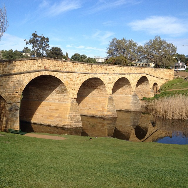 #richmond #tasmania #bridge
