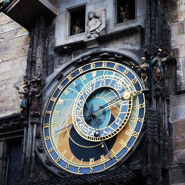 #Prague is a beautiful city and cheap to visit, the main attraction is the #PragueAstronomicalClock, you can also get an awesome view from the top of the entire city #astronomicalclock
