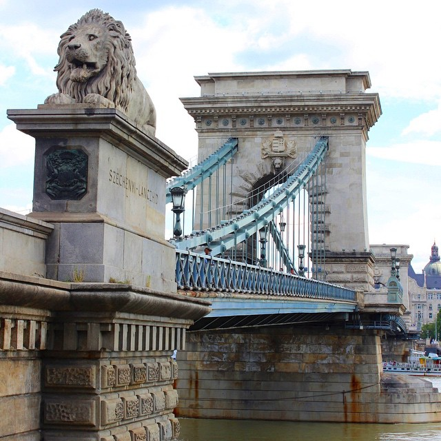 The #ChainBridge in #Budapest #Hungary, will be spending 6 nights near here next year #europe2015