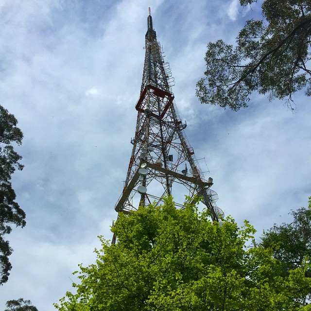 Channel 10 tower on #MtDandenong
