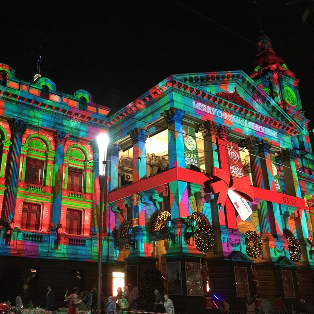 #melbourne #townhall #xmas #christmas