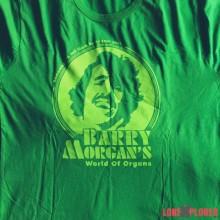 Got my #BarryMorgan T-Shirt this morning
