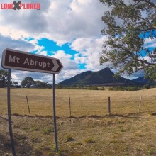 Looking towards #MtAbrupt in the #Grampians National Park just outside…
