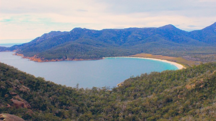 Isolation, Dolphins, Hiking and Natural Beauty come together at Wineglass Bay, Tasmania
