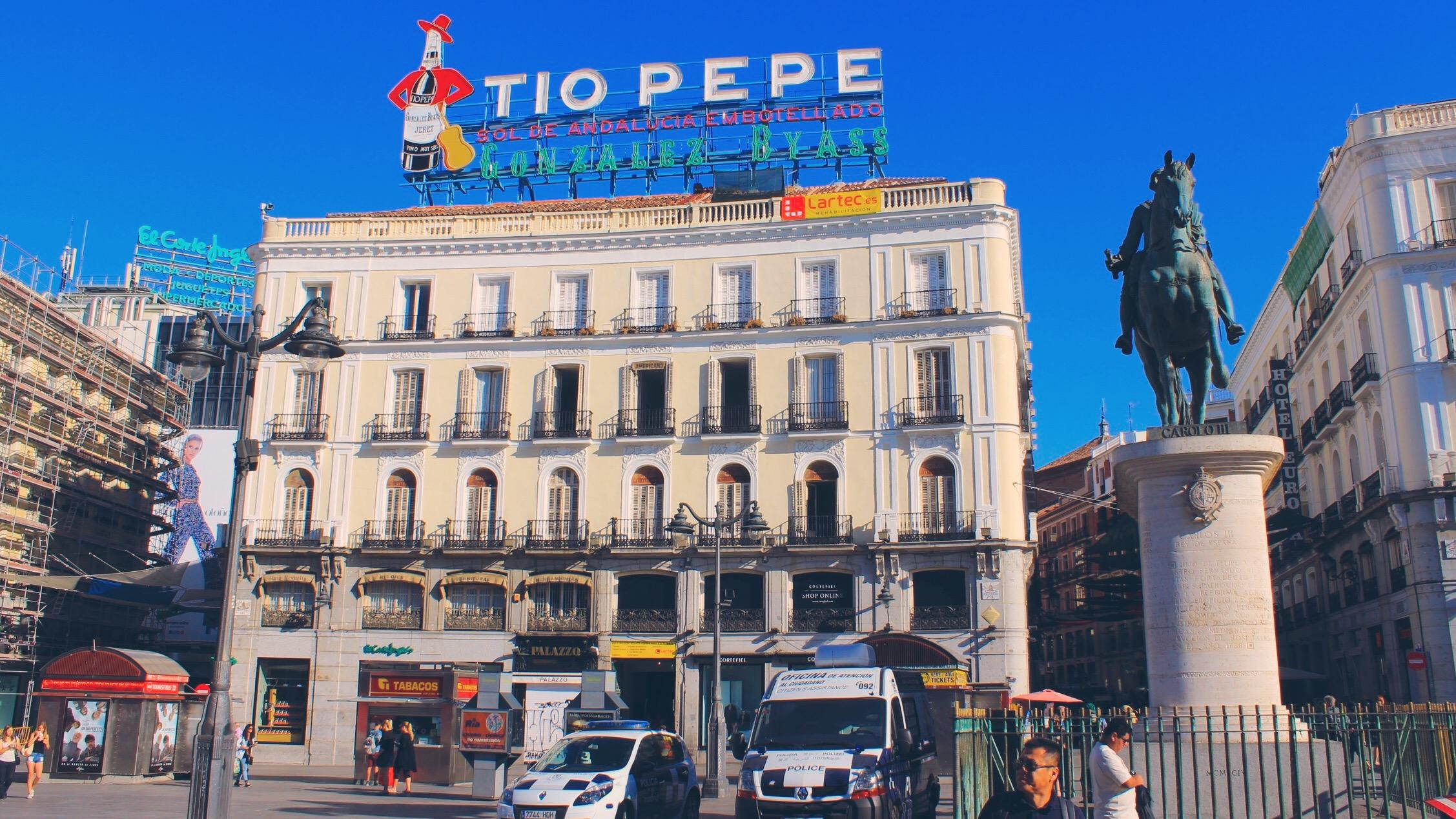 La Puerta del Sol, Madrid, Spain