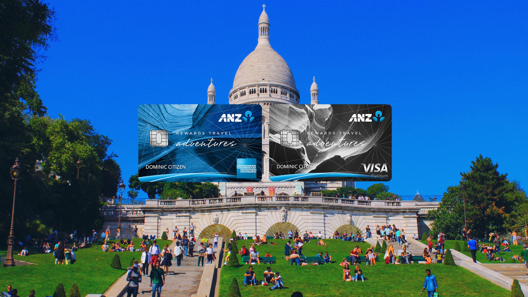 ANZ Rewards Travel Adventures