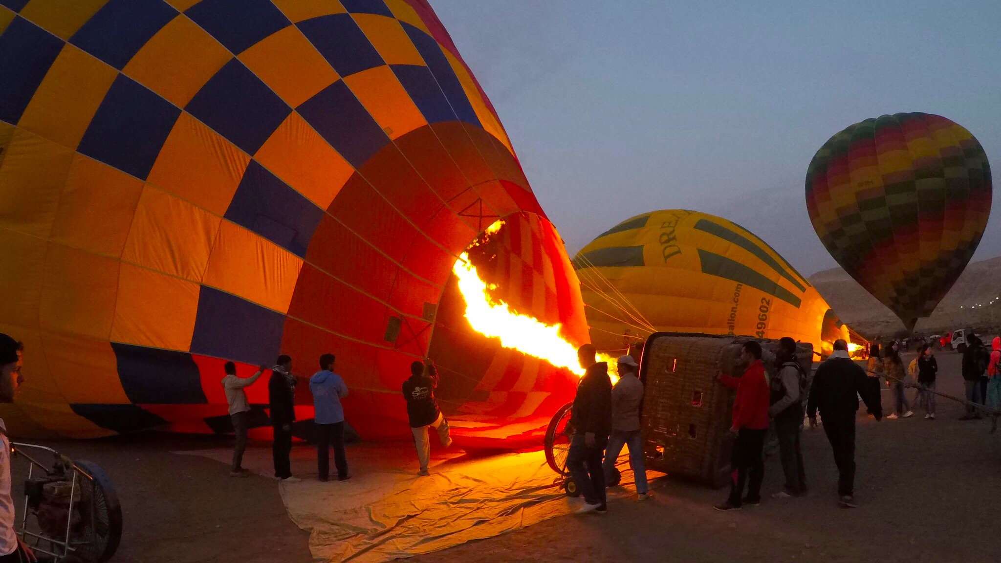 Hot Air Balloon, Luxor, Egypt