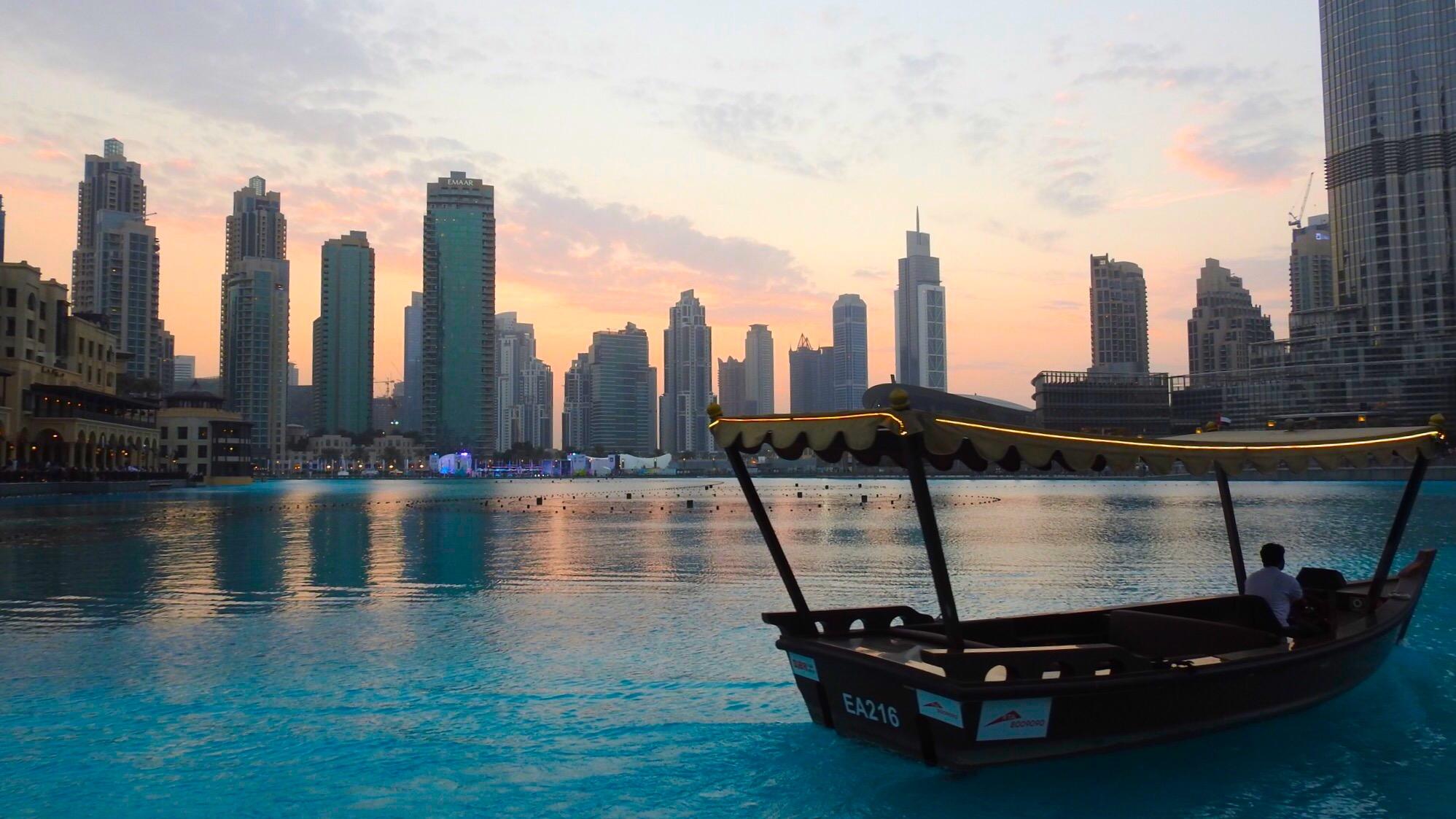 Dubai Fountain, Dubai, United Arab Emirates